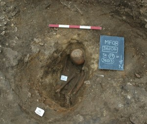 Iron Age skeleton discovered in 2008
